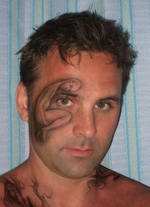 ebf859756 Awesome Tattoo Design Around Men Eye - | TattooMagz › Tattoo Designs ...
