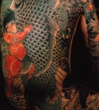 Rocking Japanese Back Tattoos