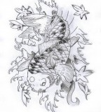 Koi Fish Tattoo Design By Carlmerrell