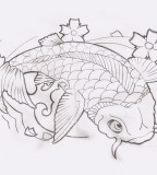 Koi Fish Tattoo Design Deviantart
