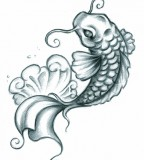 Best Koi Fish Tattoo Artwork