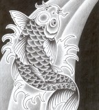 The Colorful Eyecatching Koi Tattoo