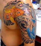 Japanese Tattoo Art Collection Coy Fish Tattoo Design
