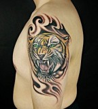 Awesome Tiger Tattoos