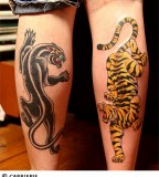 jaguar and panther tattoo designs