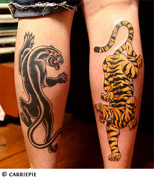 Panther Tattoos