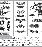 Tribal Graphics Vector Tattoo Designs
