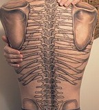 Body Bone Tattoo Design
