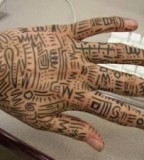 African Tribal Tattoo Designs Hand Tattoo