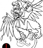 For Your Own Tattoo Drunken Monkey Tattoo Design