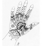 Hand / Wrist / Finger Tattoo Design
