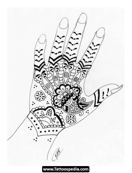 Hand / Wrist / Finger Tattoo Design