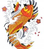 Make Your Own Koi Tattoo