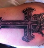 Best Cross Amp Crown Tattoo Pictures