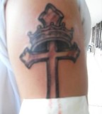 Cross Ampamp Crown Tattoo Picture By Princesschong3 Photobucket