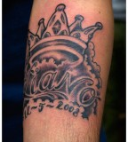 Crown Lettering  Tattoo Picture At Checkoutmyink