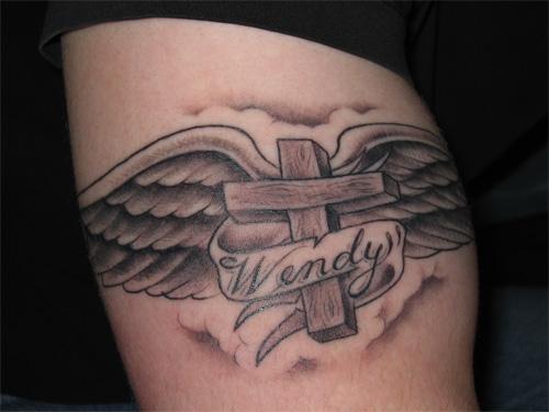 Gorgeous Christian Cross Tattoo Designs For Women