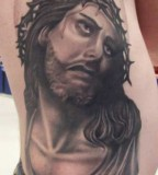 For Unique Carlos Rojas Tattoos Jesus Christ Crown Of Thorns