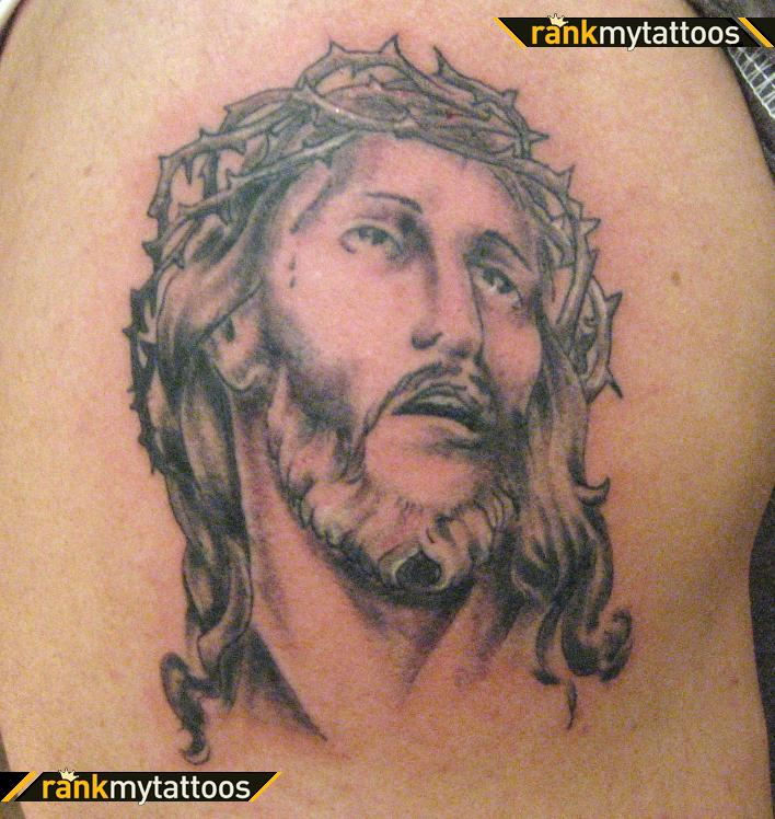 Jesus Crown Of Thorns Jesus Tattoo - | TattooMagz › Tattoo Designs ...
