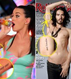 Russell Brand Katy Perry Matching Tattoos