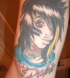Dahvie Vanity Tattoo Design for Right Forearm