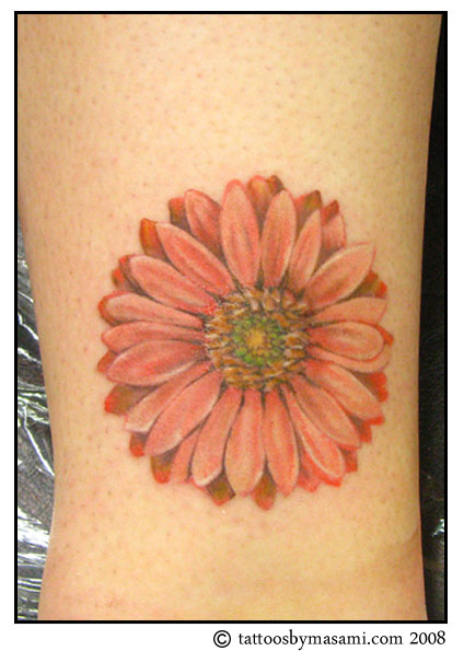 Awesome Design of Daisy Flower Tattoo for Women – Flower Tattoos