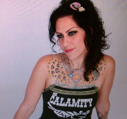 Danielle Colby Cushman Chest Tattoo Design
