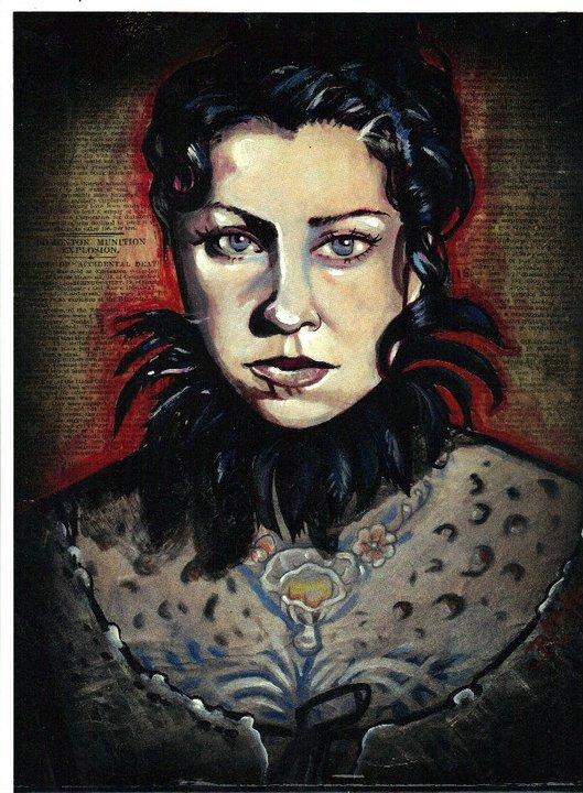 Danielle Colbycushman Portrait Tattoos