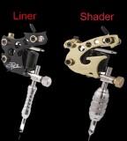 2 Top Handmade Danny Fowler Tattoo Machine Gun Kit