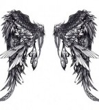 Angel Wings Tattoo Ideas