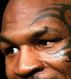 Mike Tyson Tattoo Eye Tribal Face