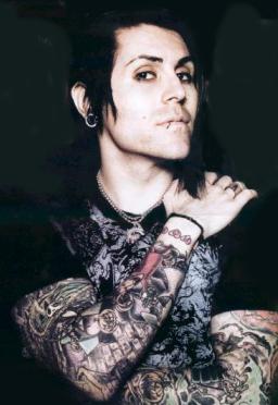 american rock star davey havok photoshoot tattoomagz tattoo designs ink works body. Black Bedroom Furniture Sets. Home Design Ideas