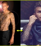 Becks New Tattoo Arm and Body