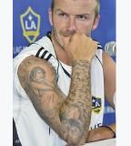 David Beckham Big Tats With Wings