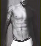 David Beckham Sexy Torso Tattoo