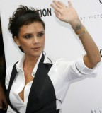 Victoria Beckham Latest Tattoos 2013