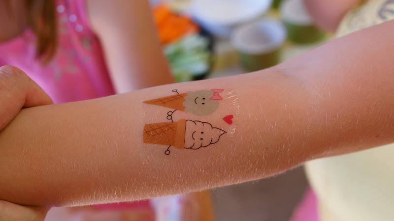 Frog Goose And Bear Diy Temporary Tattoos