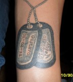 Dog Tag Tattoo By Mjmtattoos On Deviantart