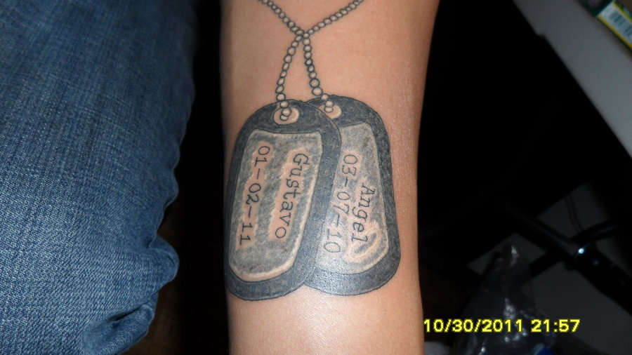 51381047f Dog Tag Tattoo By Mjmtattoos On Deviantart - | TattooMagz › Tattoo ...