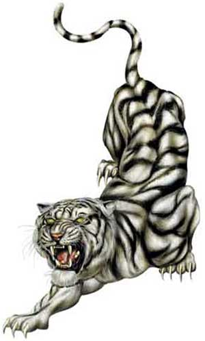 Demixo Tiger Tattoo Design