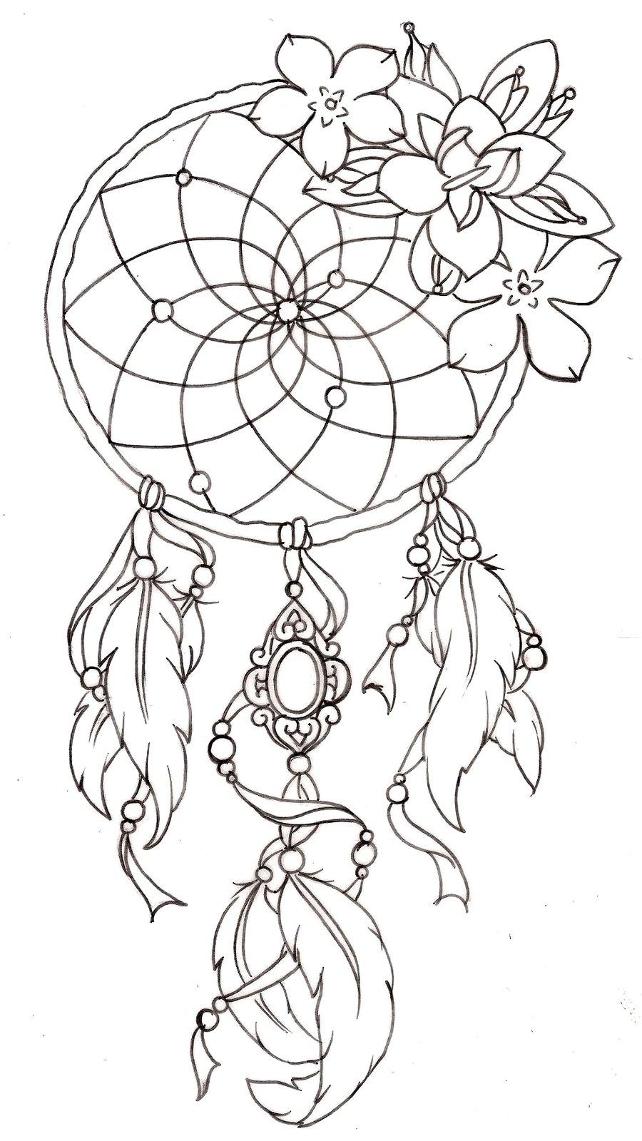 Fabulous Dream Catcher Tattoo By Metacharis