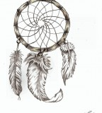 Gorgeous Dream Catcher Tattoo Photo by Steve Laube