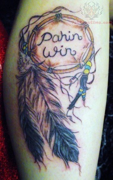 Attractive Stylish Design Of Dream Catcher Tattoos