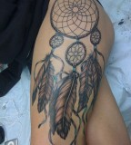 Charming Image Of Dream Catcher Tattoo