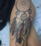 Charming Image Of Dream Catcher Tattoo