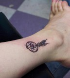 Girls With Nice Dream Catcher Tattoos