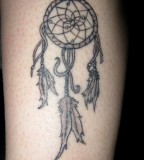 Dreamcatcher Tattoo Design on Hands for Men
