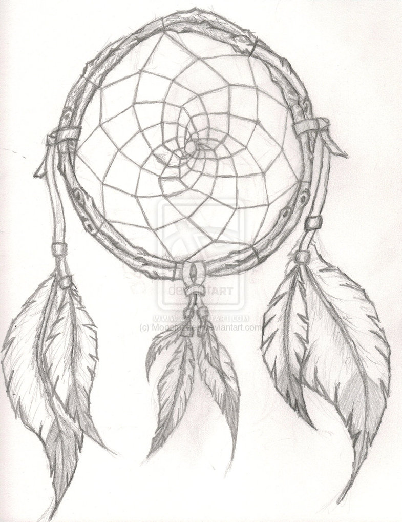 Dreamcatcher Tattoos Sketch