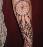 Great Dreamcatcher Tattoos Ideas on Arm For Men And Women
