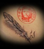 American Tattoo Feather Native American Tattoos For Women